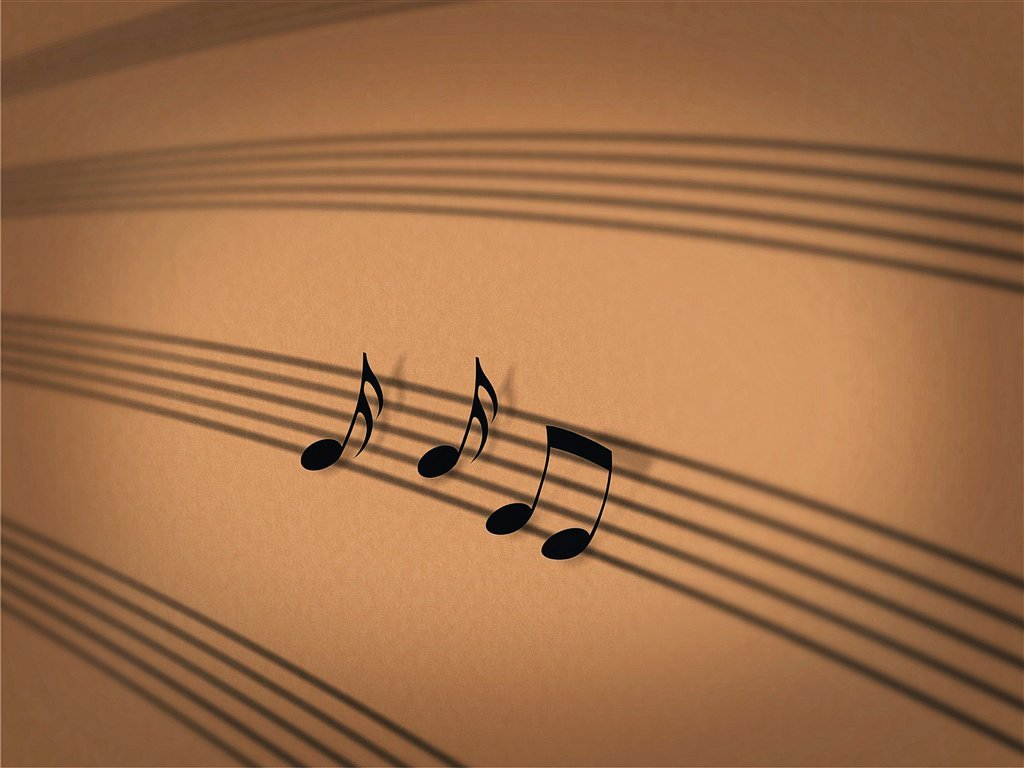Music Notes Backgrounds: Music Note Wallpaper