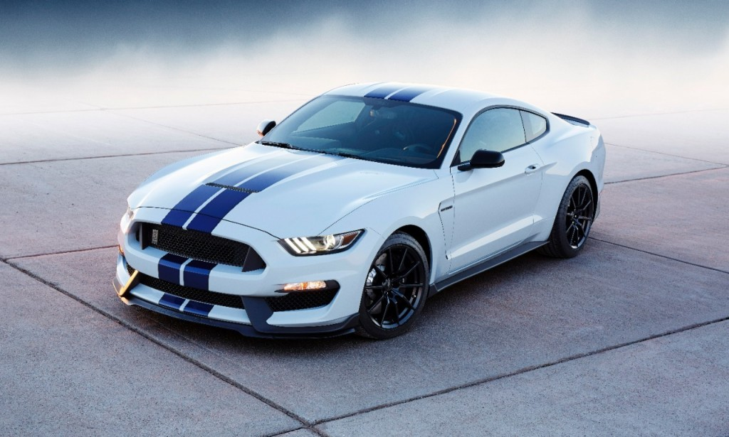 2016 Ford Mustang Shelby GT350 HD Wallpapers 1024x615