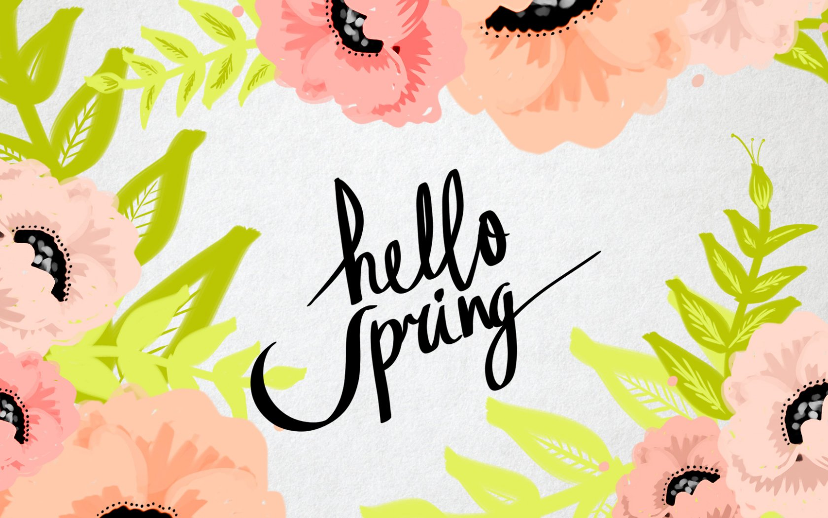 download Tumblr Spring Backgrounds For wallpaper white with 1680x1050