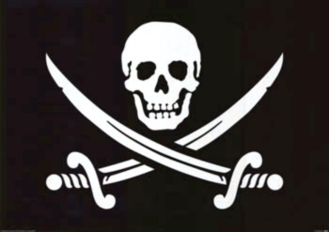 Jolly Roger Vector Download 1094x772