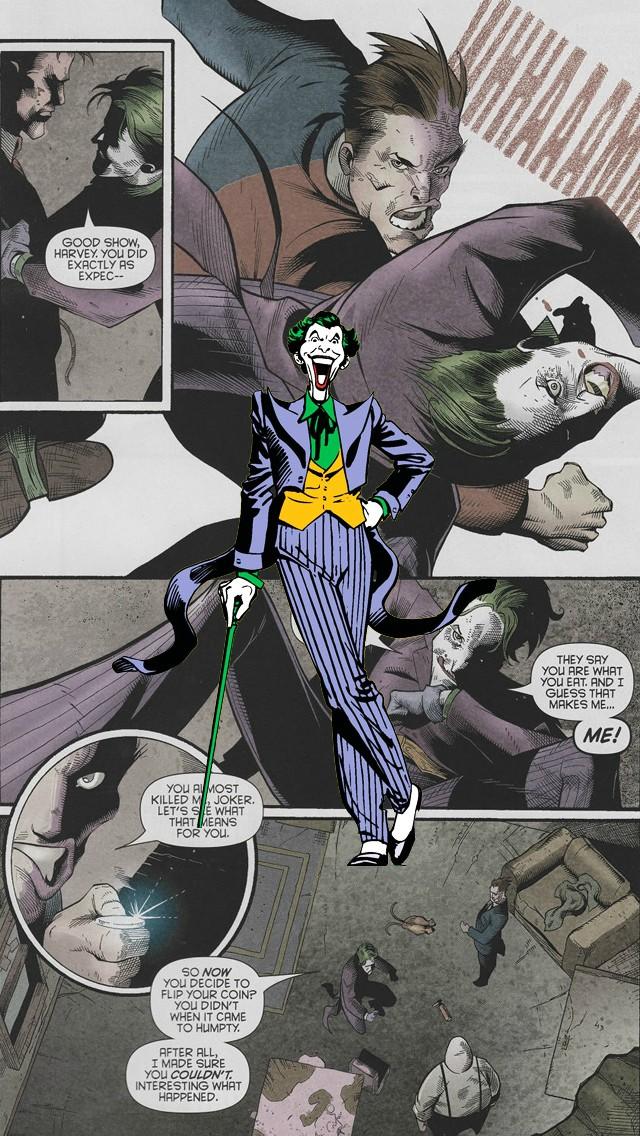iPhone 5 Wallpaper Comics joker 640x1136