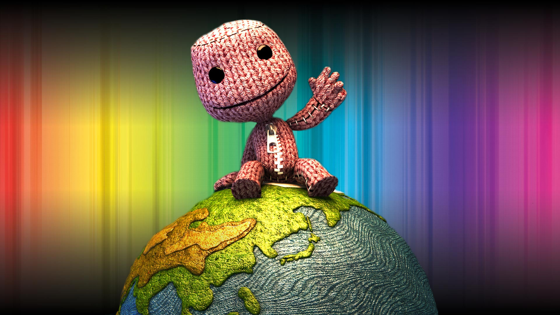 little big planet wallpaper hd wallpapersafari. Black Bedroom Furniture Sets. Home Design Ideas