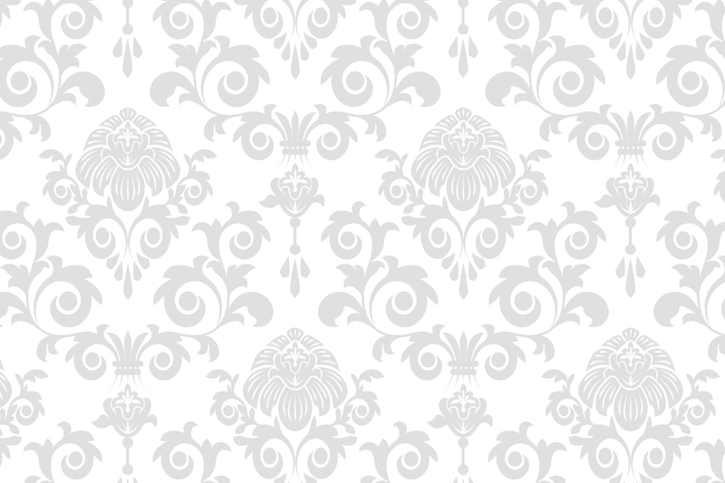 40 Silver And White Damask Wallpaper On Wallpapersafari