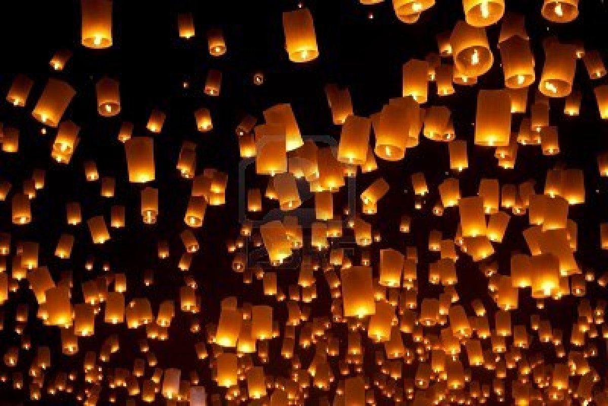 Floating Lanterns Wallpaper PicsWallpapercom 1200x801