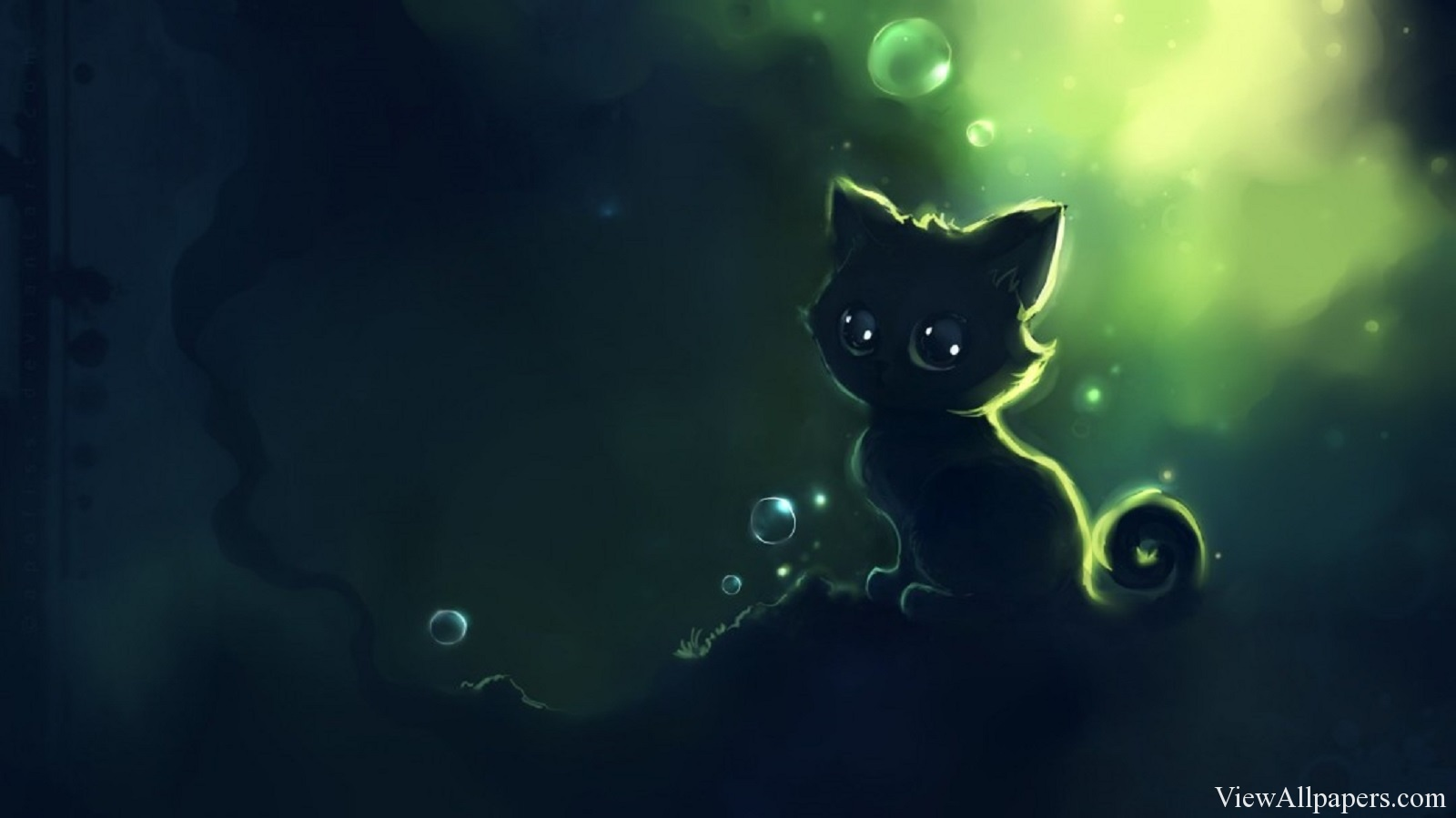Anime Alone Cat Wallpaper Anime HD Wallpapers 1600x899