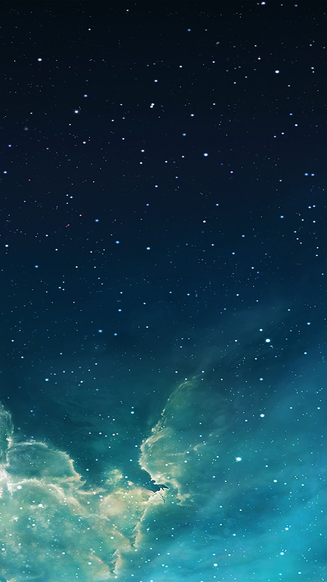 wallpaper galaxy blue 7 starry star sky iphone 6 plus wallpapers 1242x2208