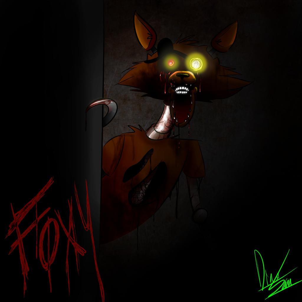 FNAF 4 Wallpaper Foxy