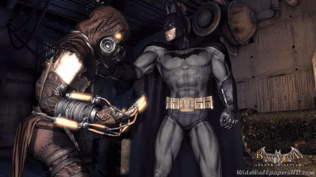 Image   Batman and Scarecrow Batman Arkham Asylum Wallpapers HDjpg 640x360