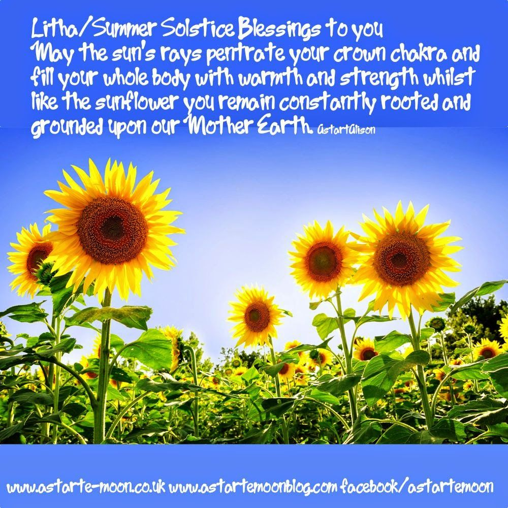 Litha Summer Solstice Blessings to you May the suns rays 1000x1000