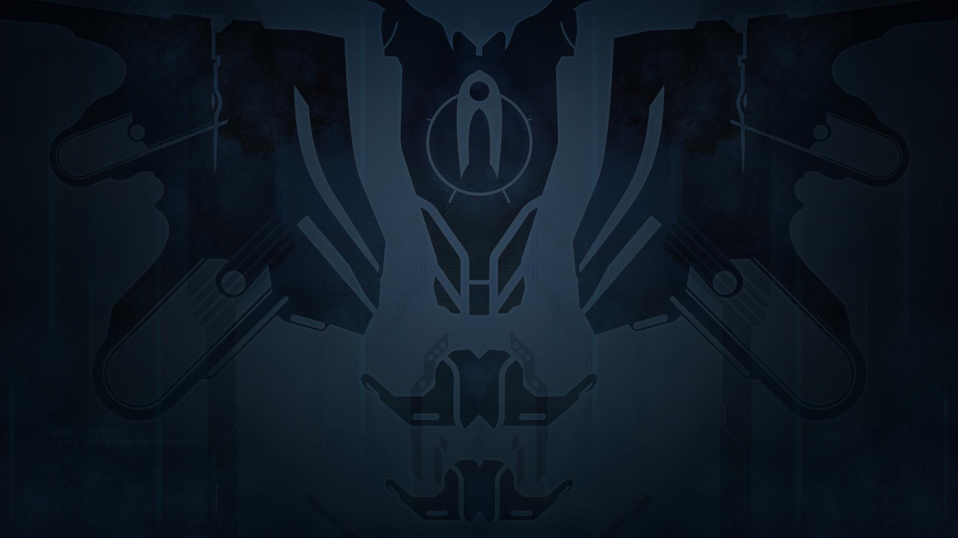 Halo 4 Cortana Wallpaper Dark by Beorn 1920x1080