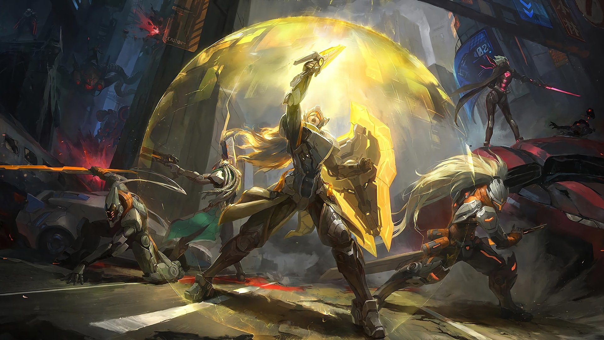 19 Lucian League Of Legends HD Wallpapers Background Images 1920x1080