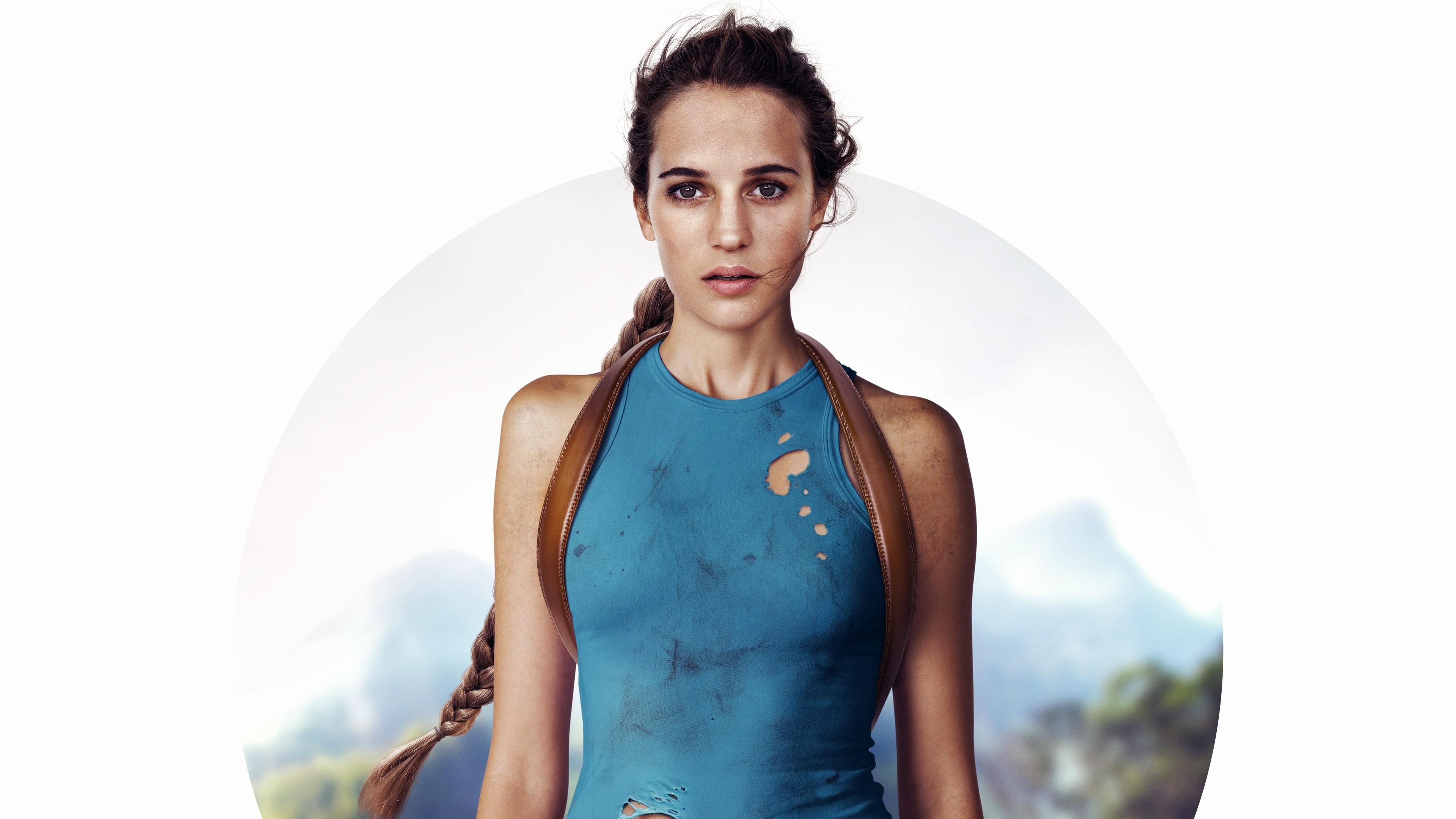 Wallpaper Lara Croft Tomb Raider Alicia Vikander 4k Movies 15866 3840x2160