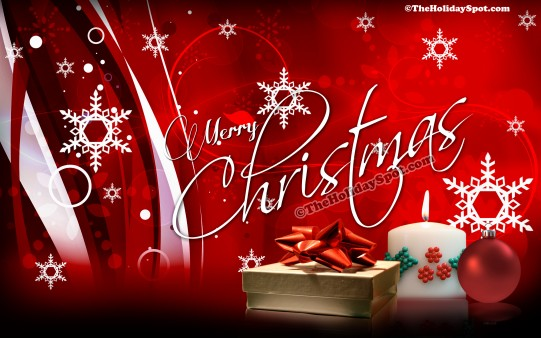 Homepage Christmas Merry Christmas 541x338