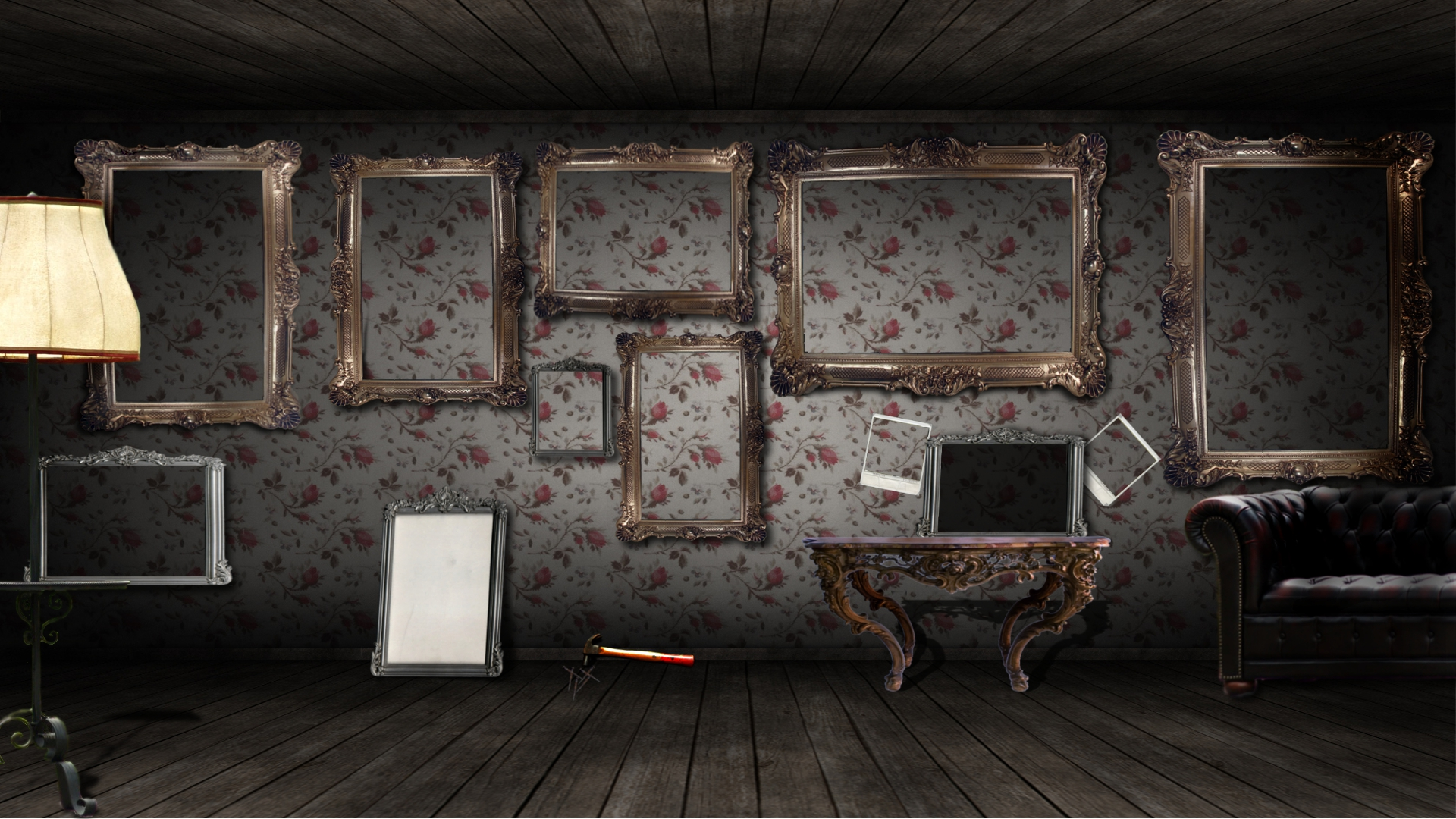wallpaper frames room paper living ephoras picture 1920x1080