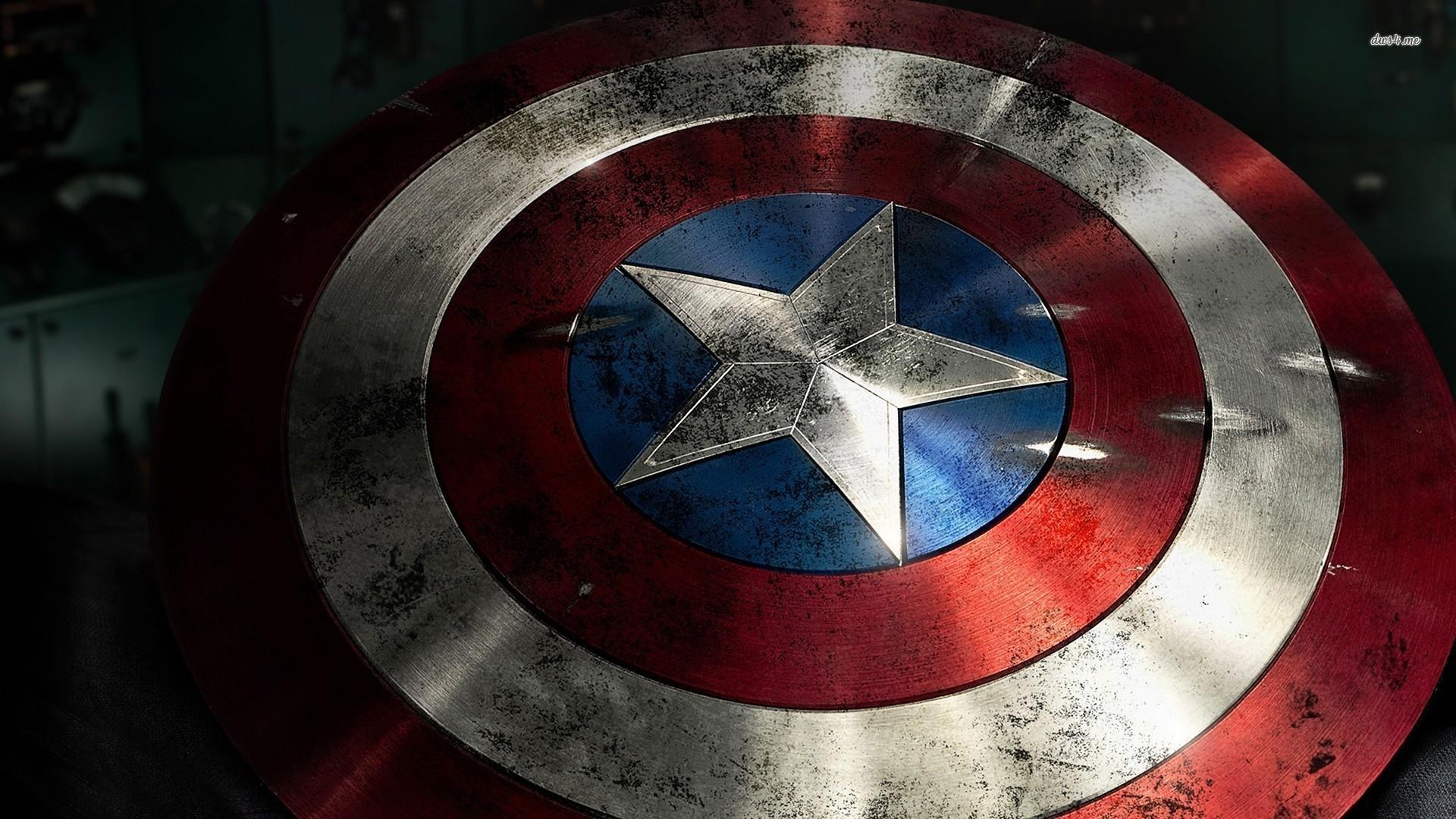 Captain America shield wallpaper 1280x800 Captain America shield 1920x1080