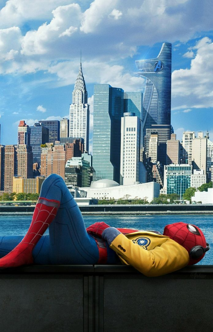 15 Amazing Spider Man Homecoming Wallpapers [HD Full HD 2K 4K] 695x1082