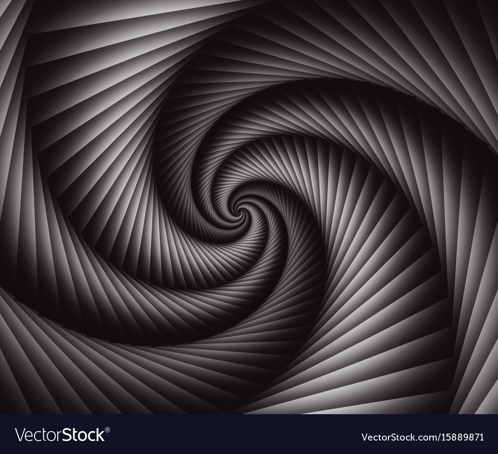 3d abstract spiral background wallpaper Royalty Vector 1000x912