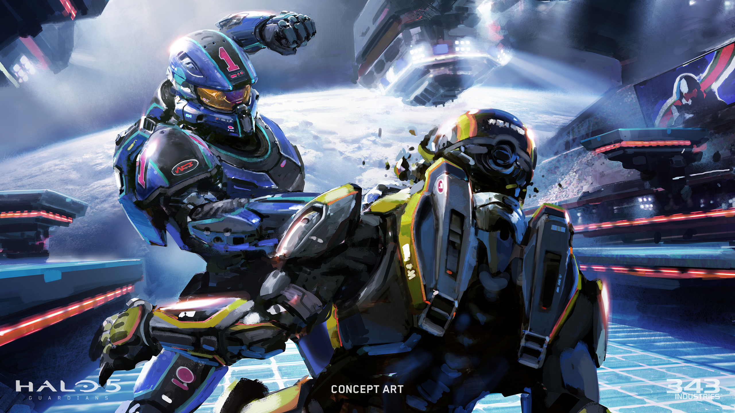 Week 2 Halo 5 Guardians Multiplayer map screenshots Crossfire and 2560x1440
