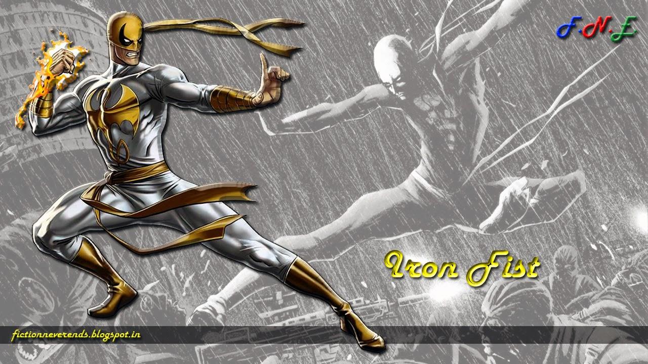 Fiction Never Ends Iron Fist Wallpaper 1280x720