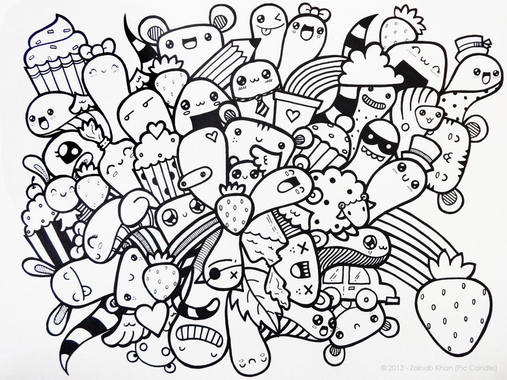 doodle art wallpapers