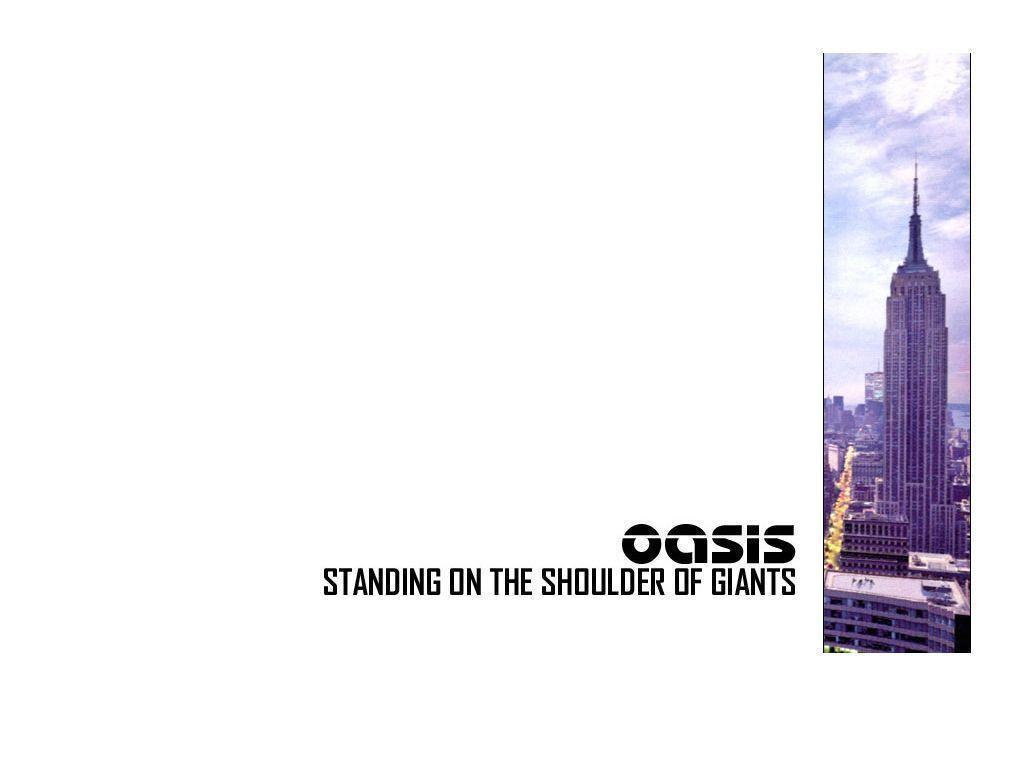 Oasis Wallpapers 1024x768