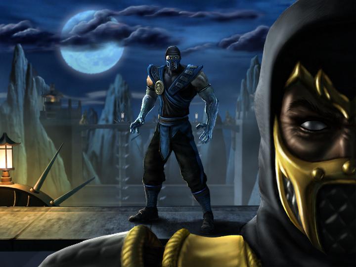 mortal kombat 9 scorpion vs sub zero wallpaper Scorpion vs Sub Zero 720x540