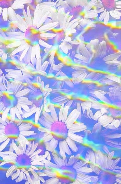 wallpaper holographic wallpaper spring backgrounds iphone backgrounds ...
