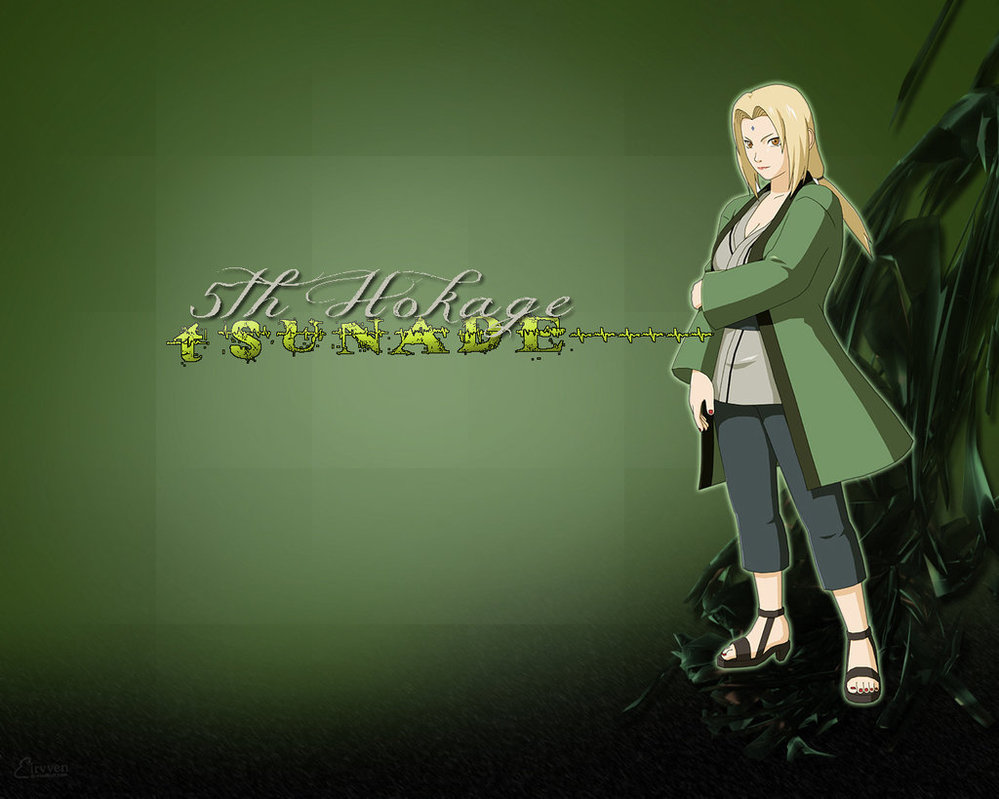 Tsunade wallpaper by Eirvven 999x799