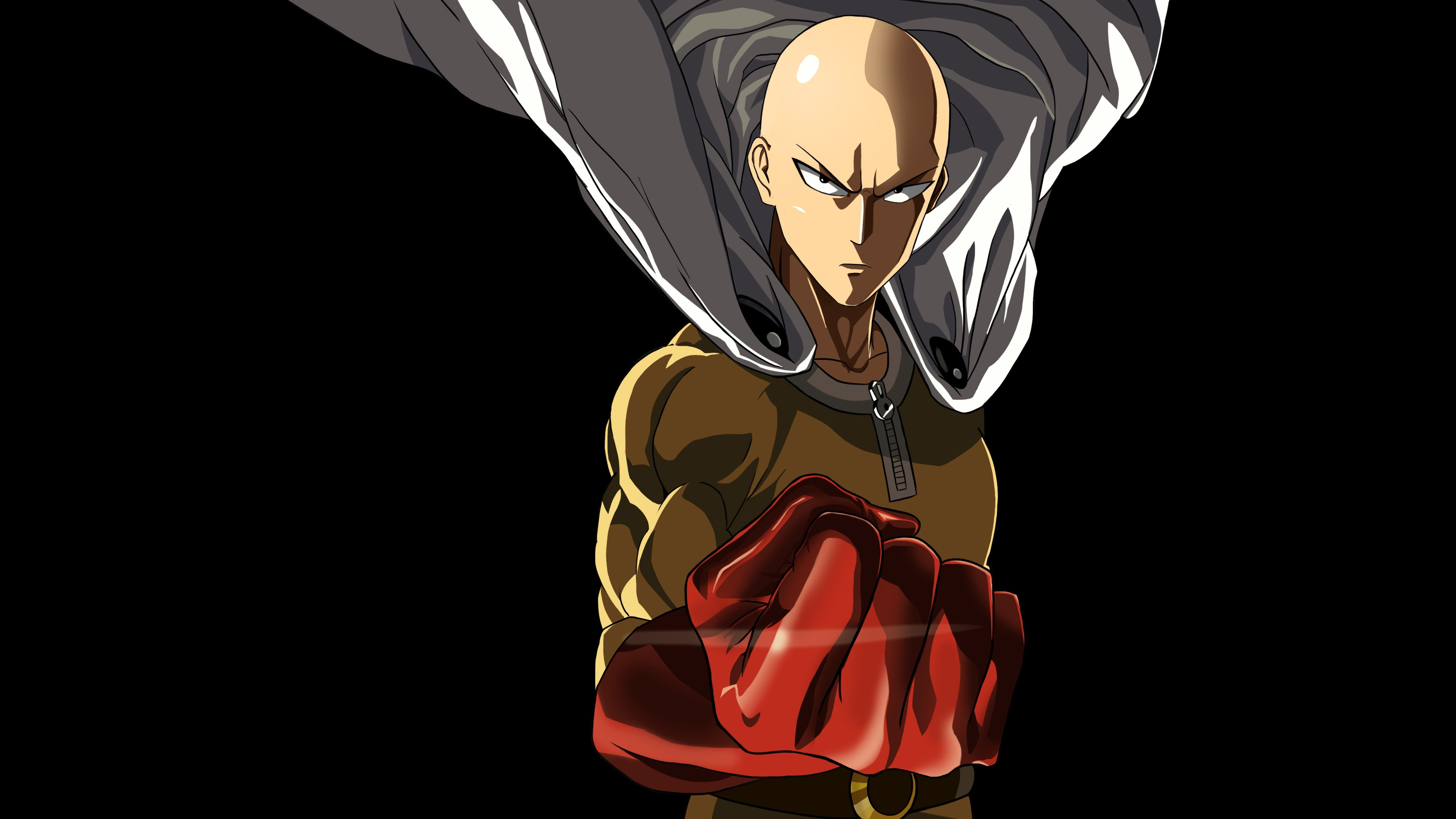 One Punch Man Wallpaper 4K - WallpaperSafari