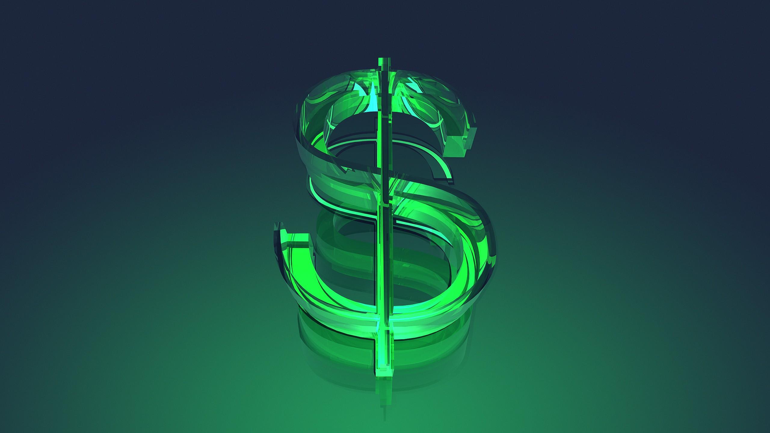 Dollar USD Money 3D 2560x1440 2560x1440