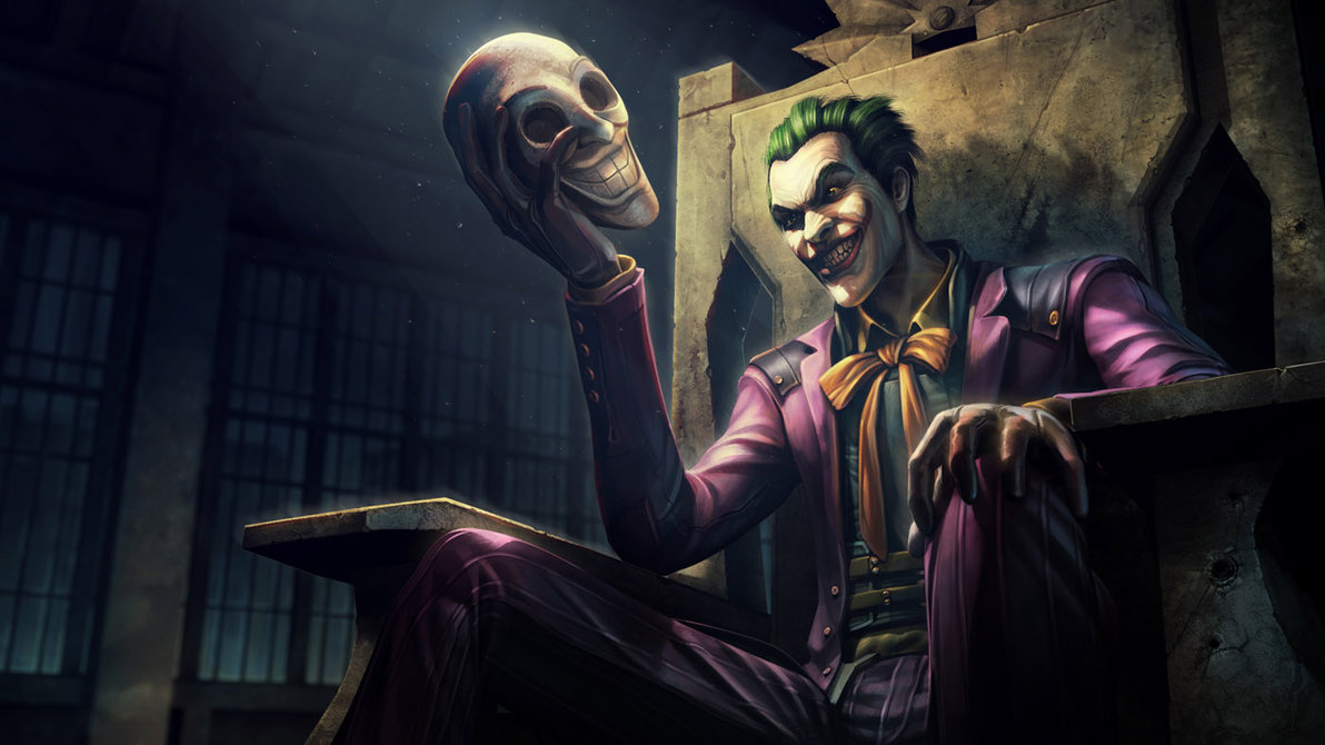Injustice Gods Among Us   Joker by atomhawk 1192x670