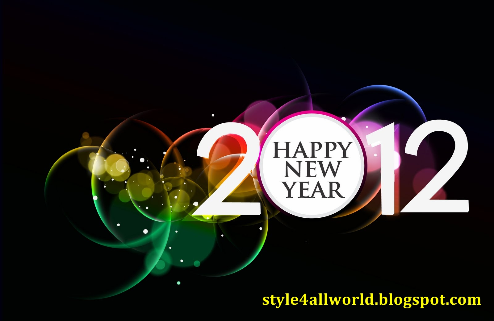 Download image New Year Greetings Wallpapers Wallpaper 2012 Happy PC 1600x1041
