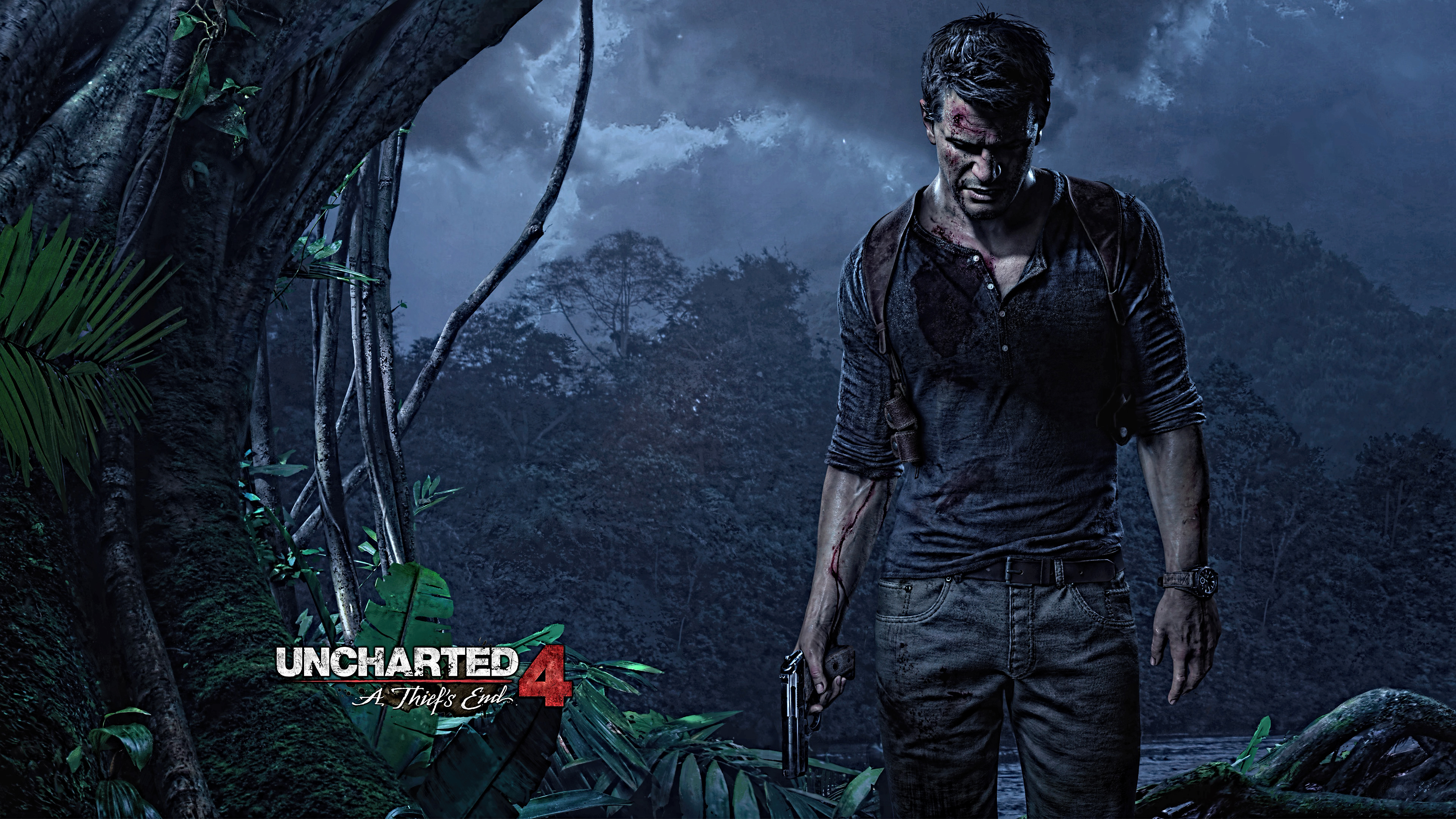 Uncharted 4 A Thiefs End 16 Background Wallpaper   Hivewallpapercom 3840x2160