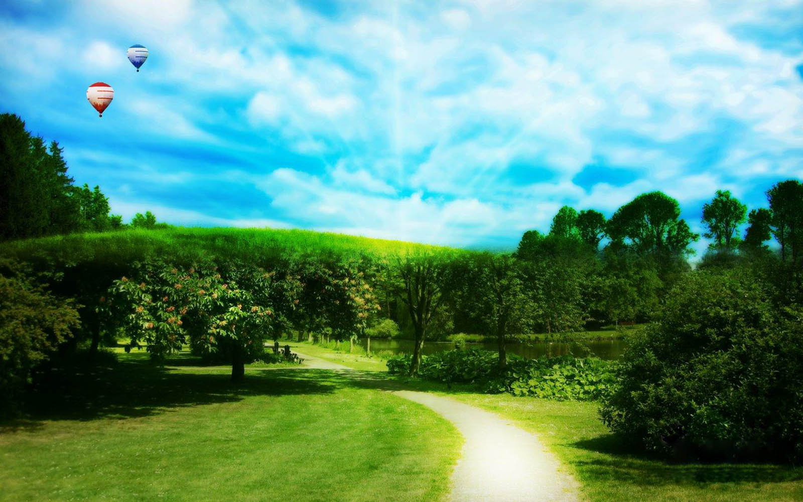 wallpapers: Green Nature Wallpapers