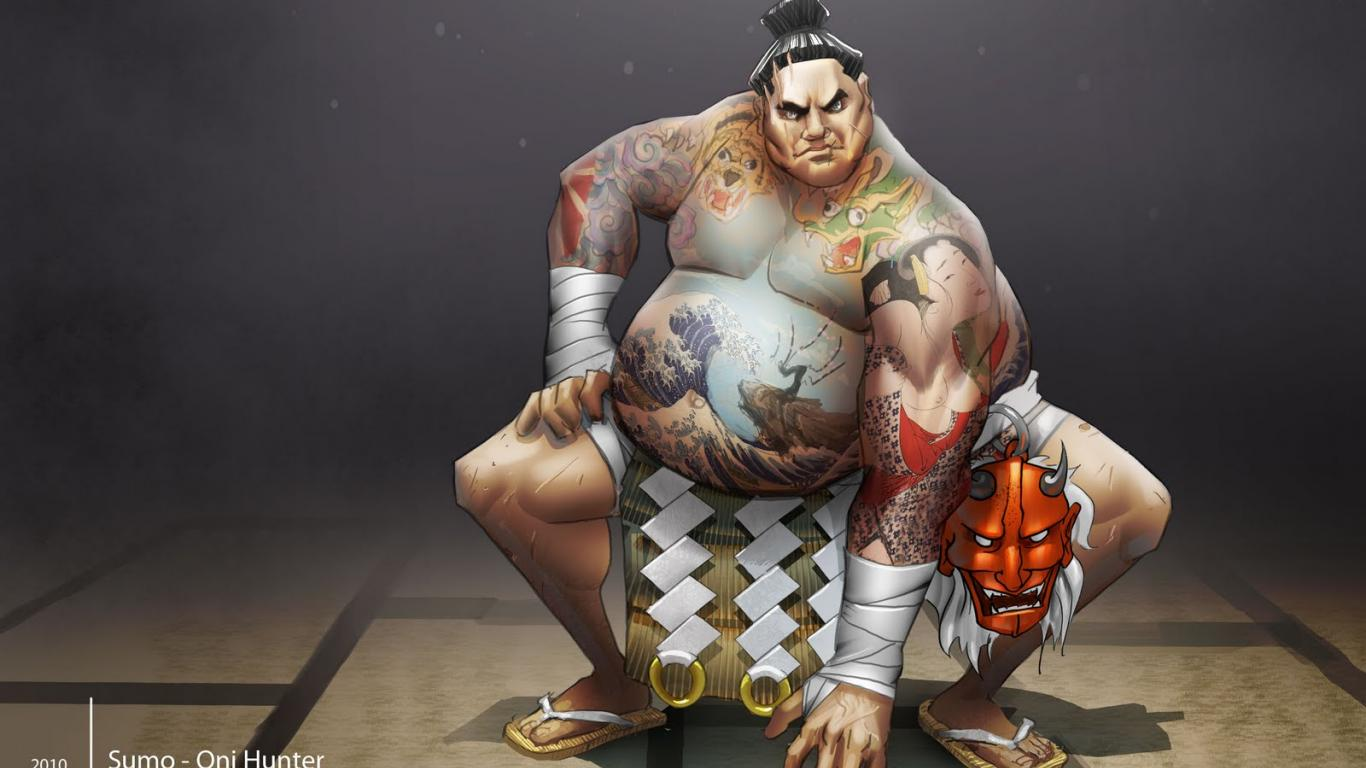 Sumo Wallpaper 1   1600 X 1095 stmednet 1366x768