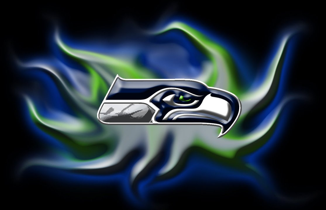 Seattle Seahawks by BlueHedgedarkAttack 1115x717