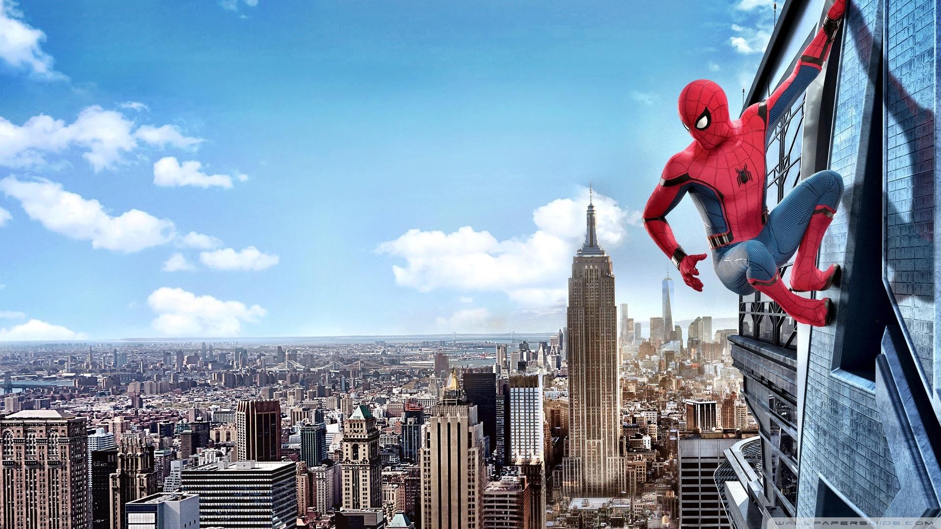 Spiderman Homecoming 4K HD Desktop Wallpaper for 4K Ultra HD TV 1920x1080
