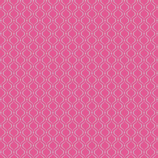 Glitter Trellis Hot Pink Wallpaper   Wall Sticker Outlet 650x650