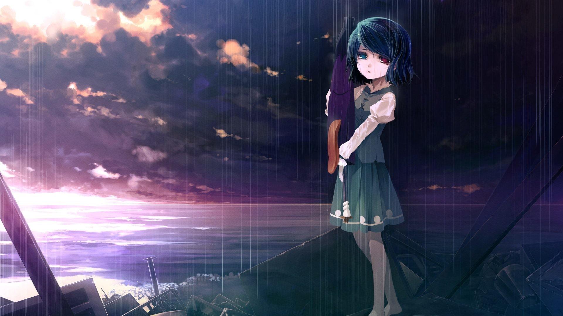 86 Sad Anime Wallpapers on WallpaperPlay 1920x1080