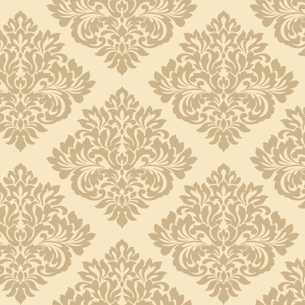 Cream Gold Glitter   DL40213   Damask   Sparkle   Decorline 1000x1000