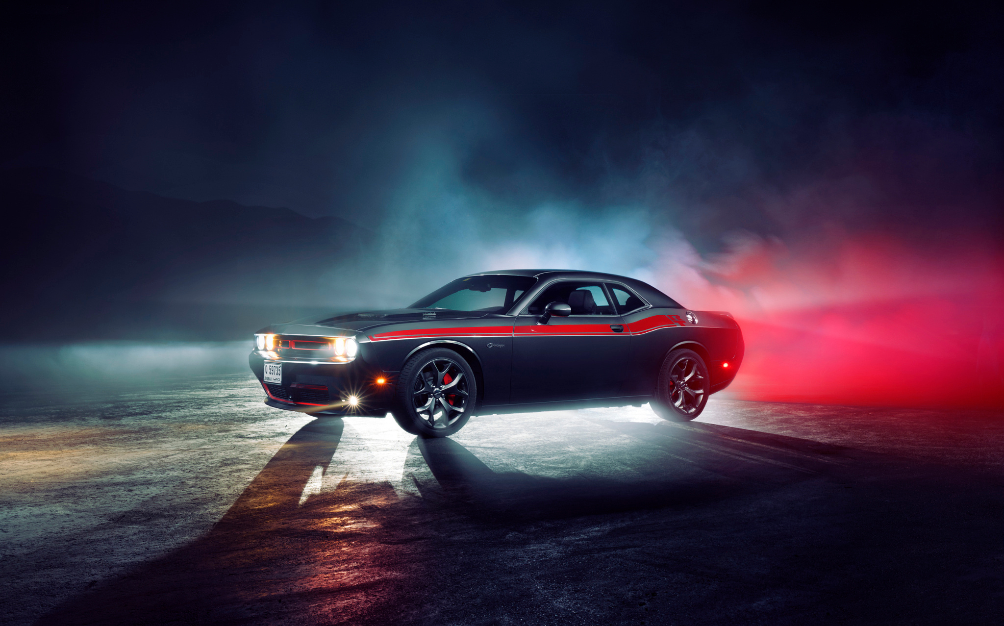 56 Dodge Challenger RT HD Wallpapers Background Images 2048x1277
