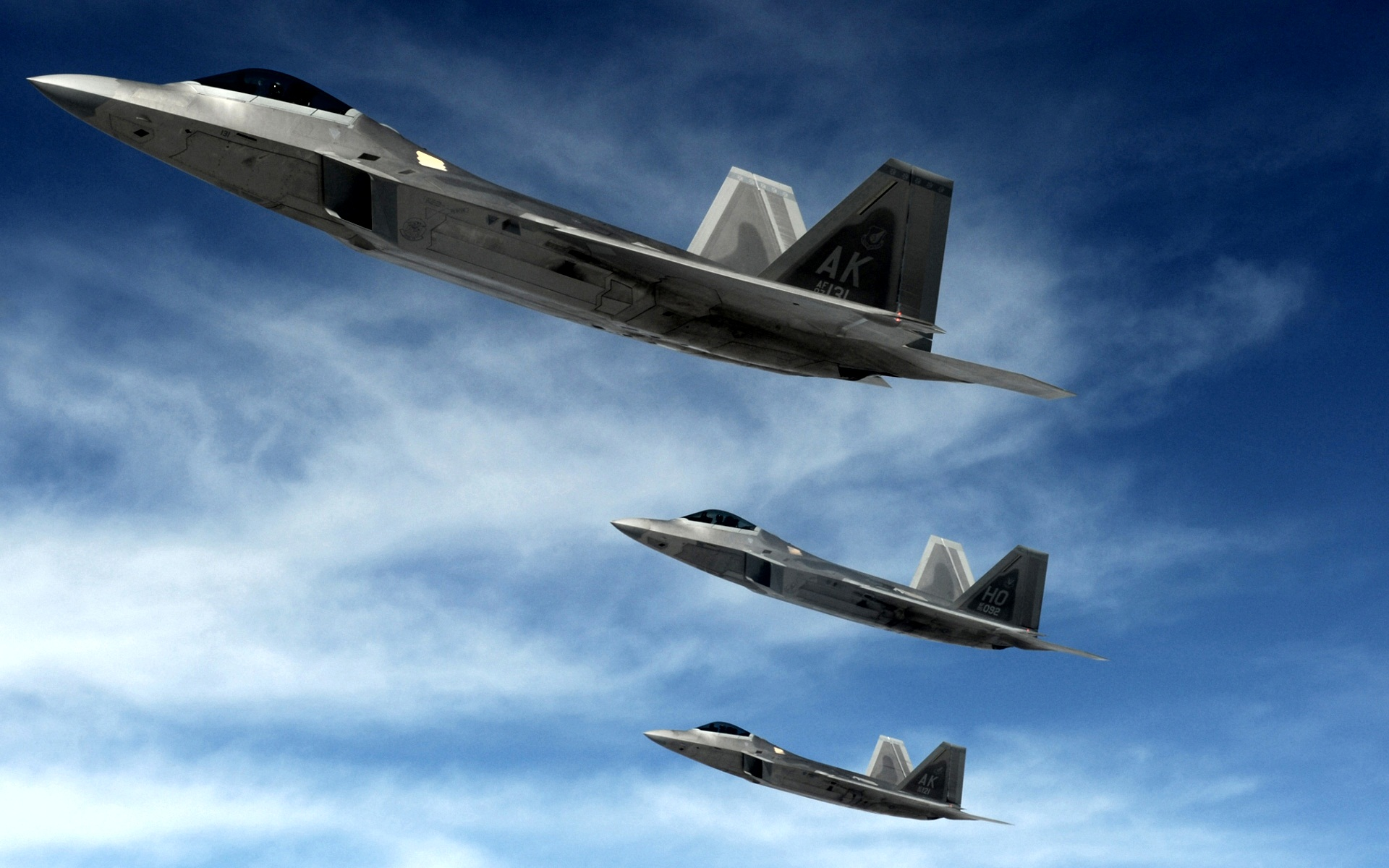 22 Raptors Stealth Fighters Wallpapers HD Wallpapers 1920x1200
