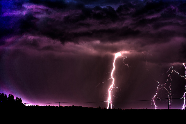 Interesting Thunderstorms And Lightning Thunder Wallpaper Throughout Inspiration