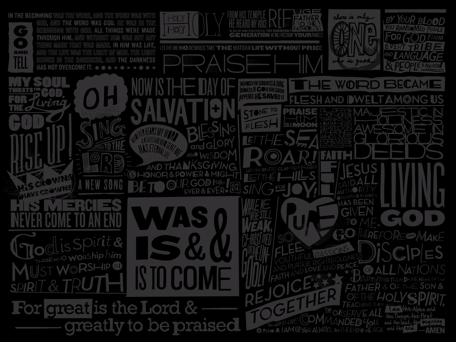 Scripture Wallpapers The Resurgence 1600x1200