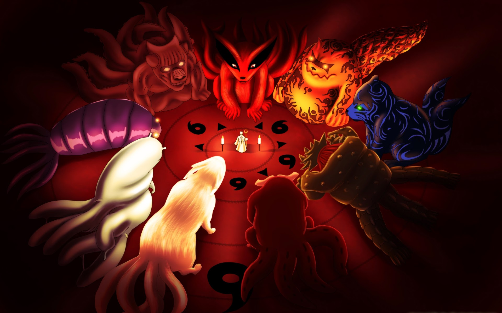 Best 41 Tailed Beasts Wallpaper on HipWallpaper Tailed Beasts 1920x1200