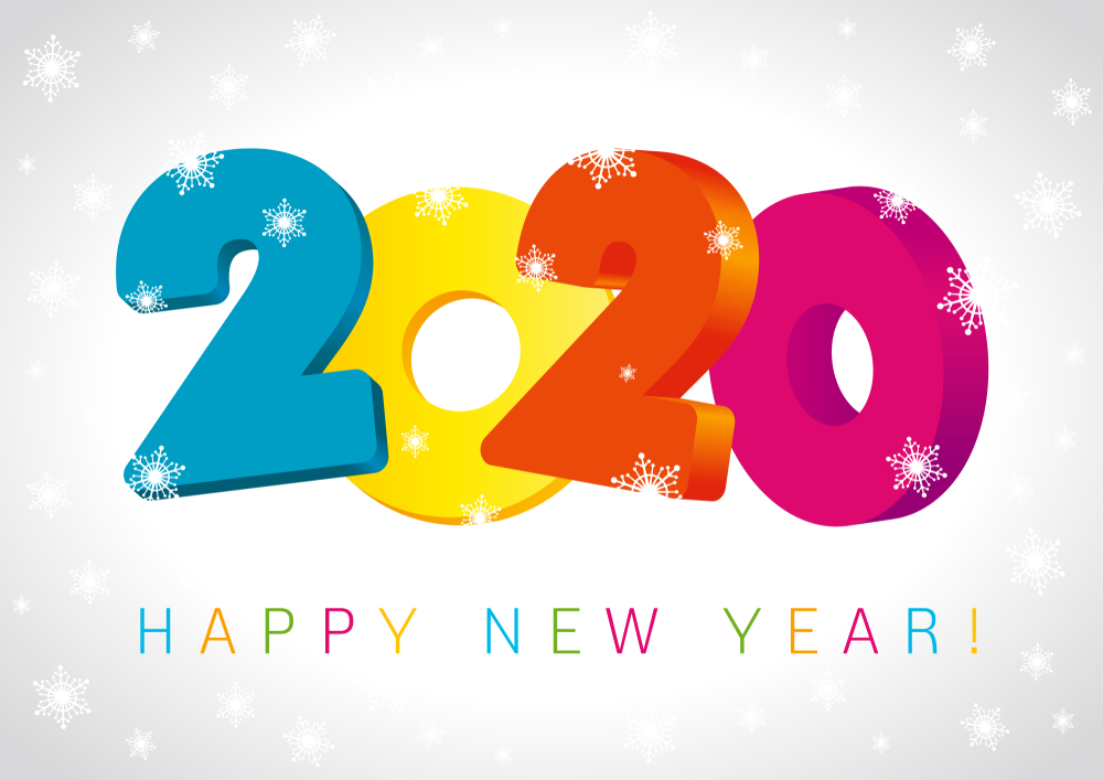 Happy New Year 2020 Wallpapers   New Year 2020 Images 1000x707