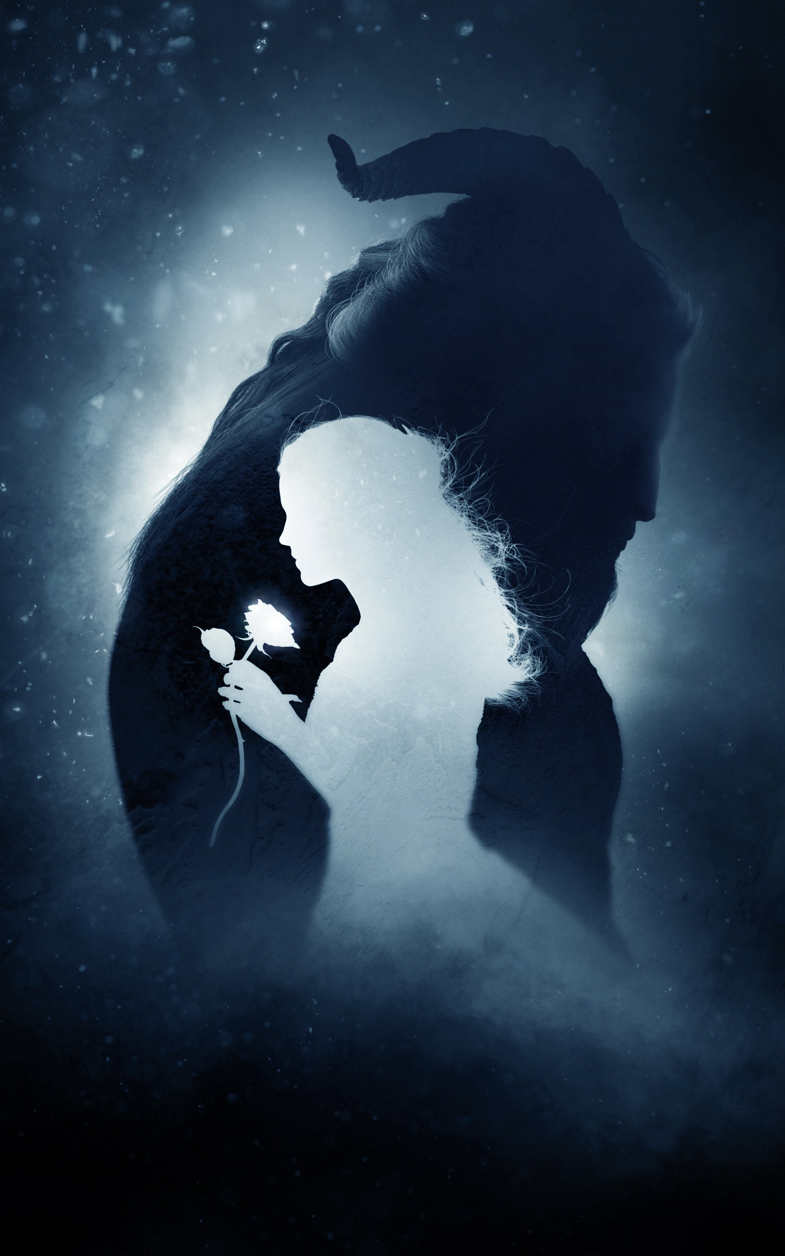 Disneys Beauty and the Beast Mobile Wallpapers 124 1080p to 4k 2500x4000