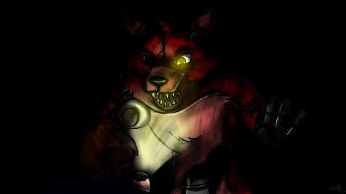 Foxy fnaf 2   Fox Foxy Horror Video Game 700x393