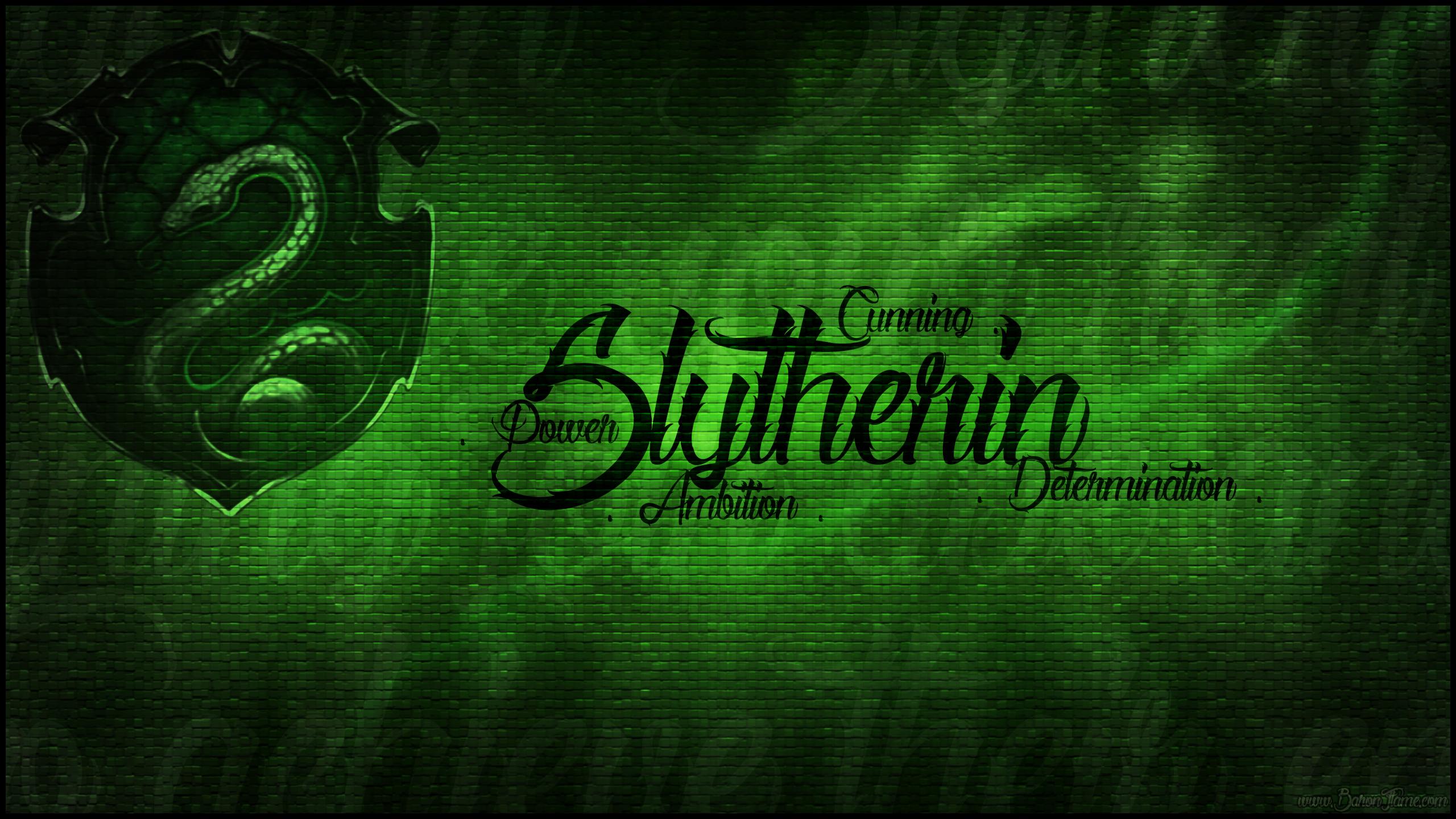 Slytherin Crest Wallpaper - WallpaperSafari