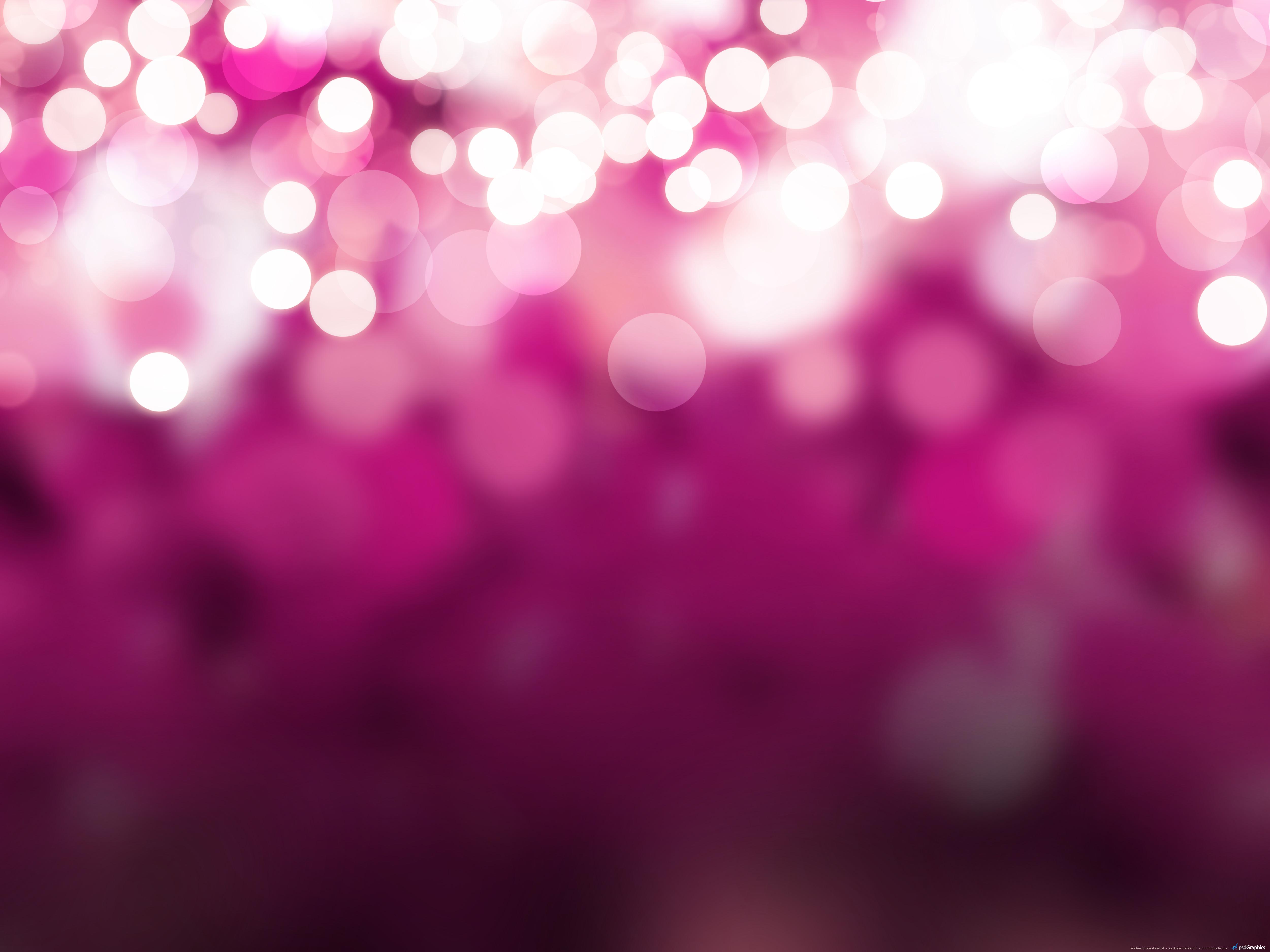 Blurry Christmas lights background PSDGraphics 5000x3750